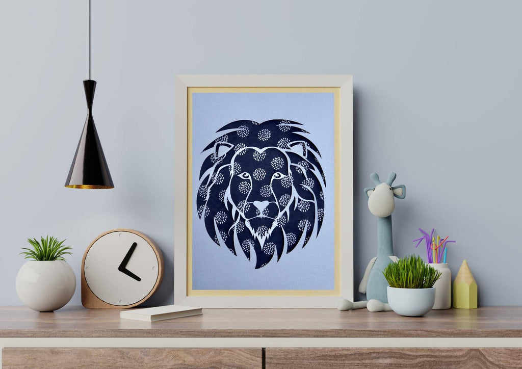Your 1st Adventures Framed - Lion