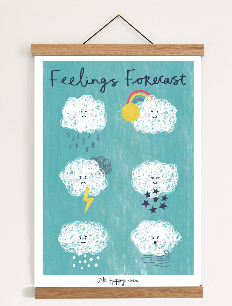 Feelings Forecast Print
