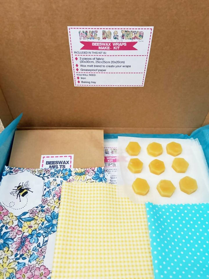 Eco Beeswax Wraps DIY Making Kit