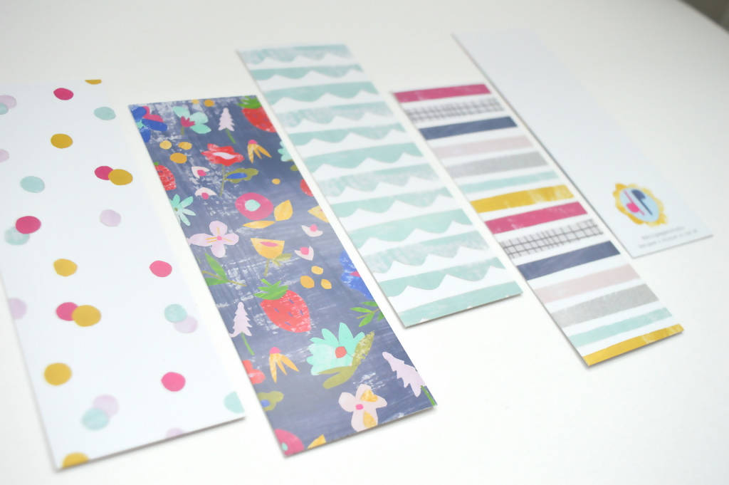 Dolly Pepper Studio, Bookmarks, set of 4 patterns