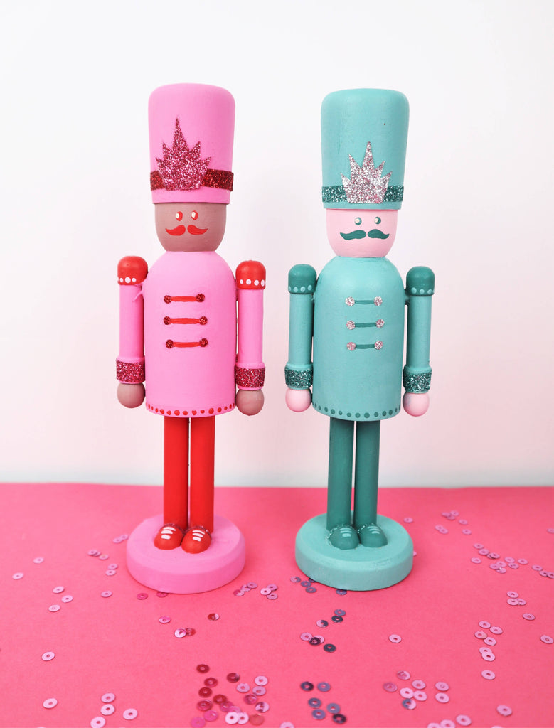 Handpainted Nutcracker Christmas Decoration
