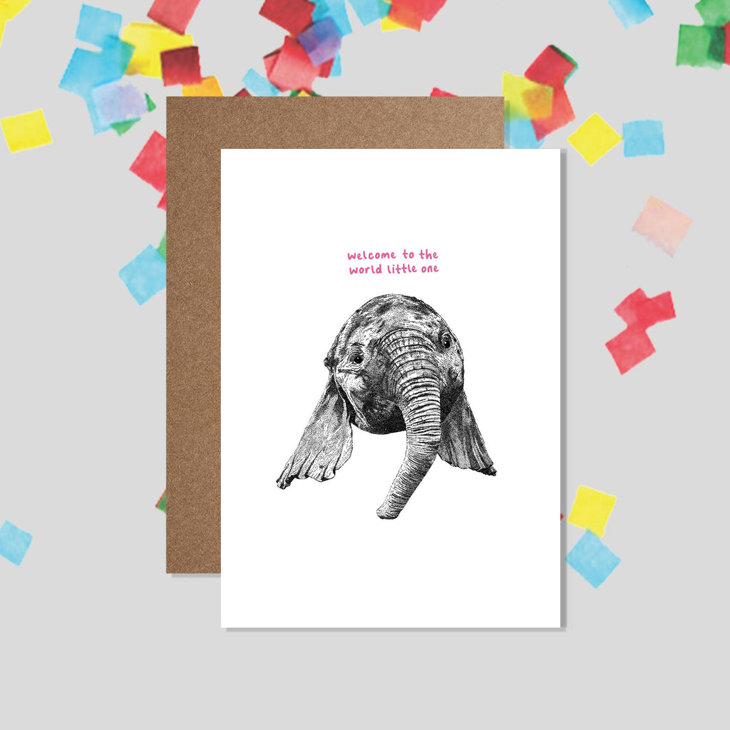 Welcome to the World Little One - New Baby Card