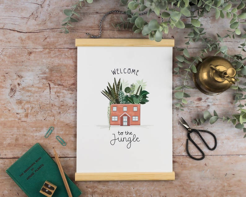 Welcome to the Jungle - A4 Print
