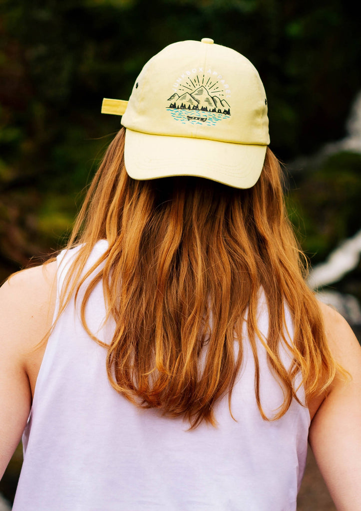 Lakeside Lemon Cotton Twill Baseball Cap