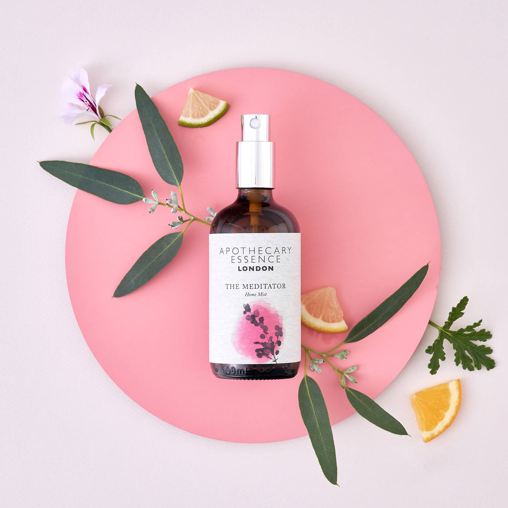 Sweet Orange, Rose Geranium and Eucalyptus - The Meditator Home Mist