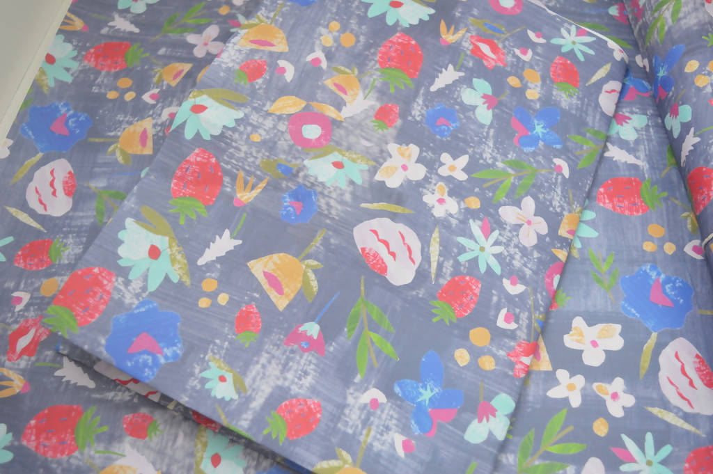 Giftwrap, Pretty floral wrap, Dolly Pepper Studio,