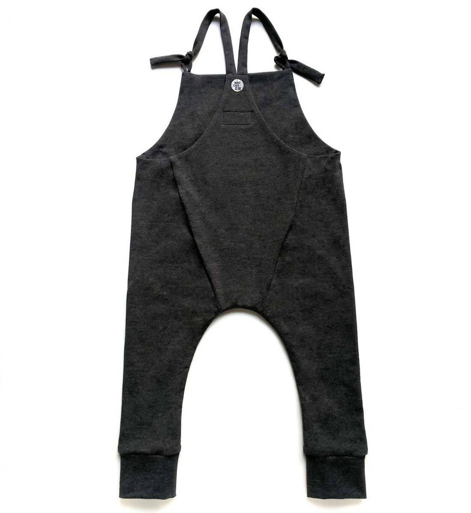 Charcoal Skinny Dungarees
