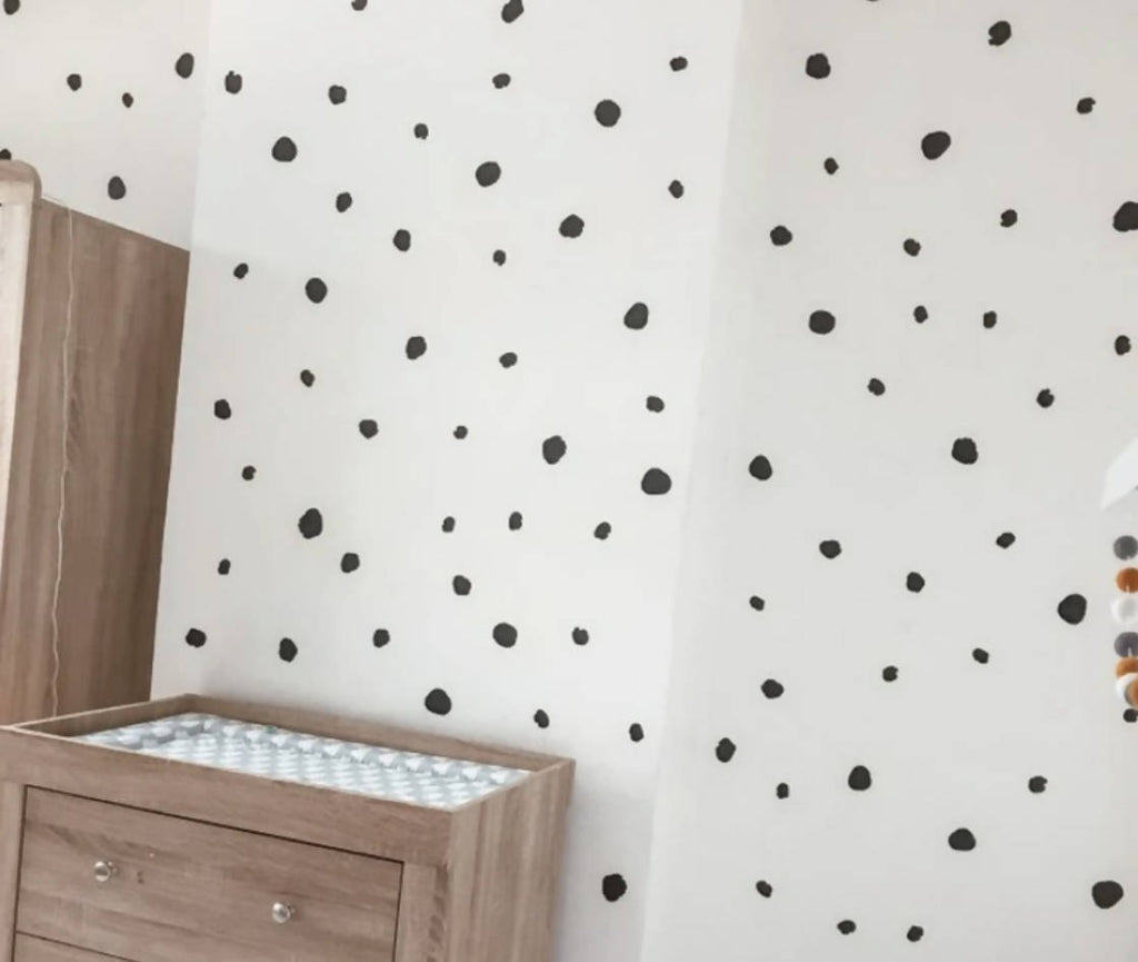 DALMATION DOTS WALL STICKERS