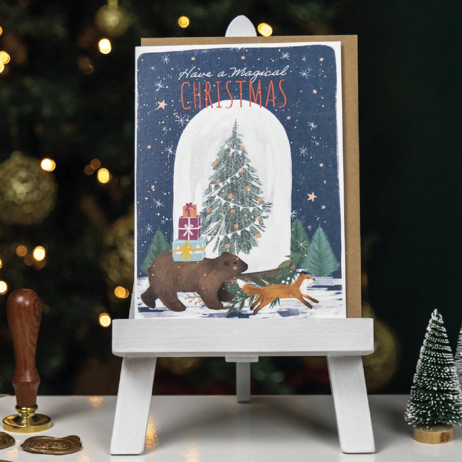 Pack of 4 Charity Christmas Cards