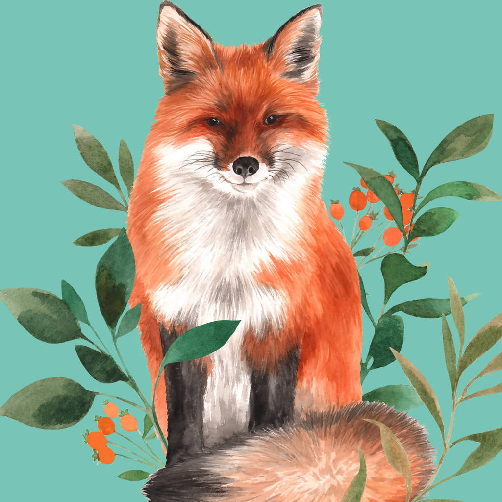 'Still Looking Foxy!' Greetings Card