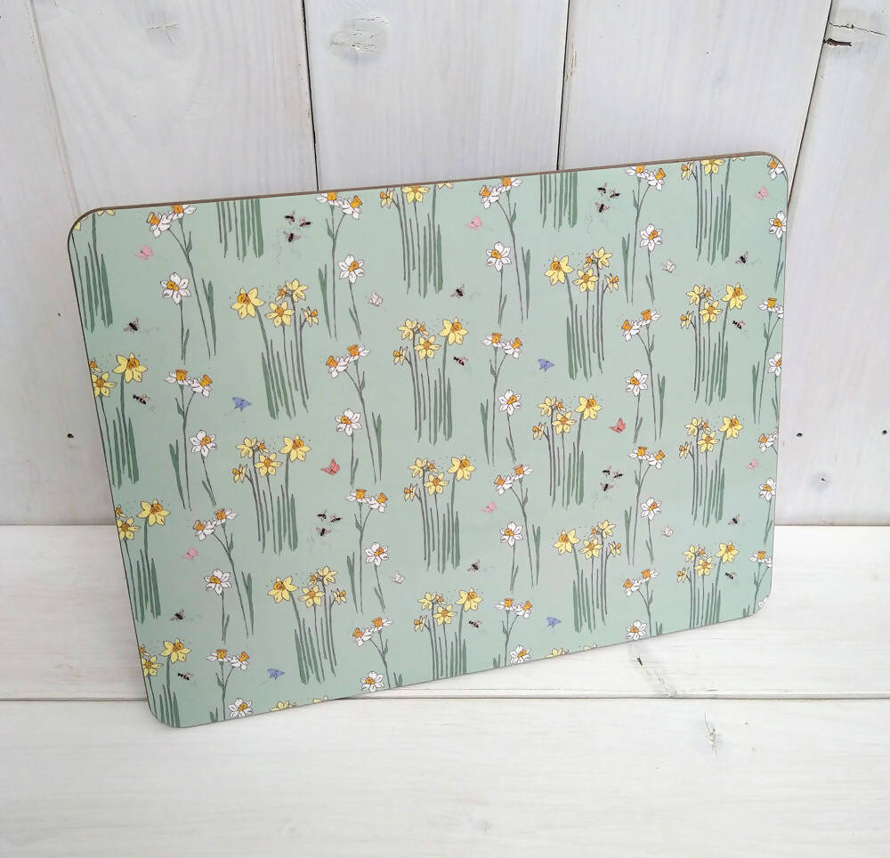 Ditsy Daffodils Large Placemats