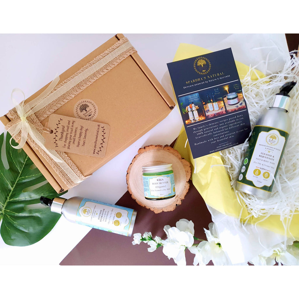 Nourish: A Complete Body Care Beauty Kit (Eco-friendly Gift Collection)