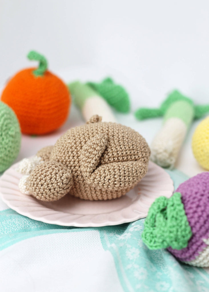 Crochet Roast Chicken.