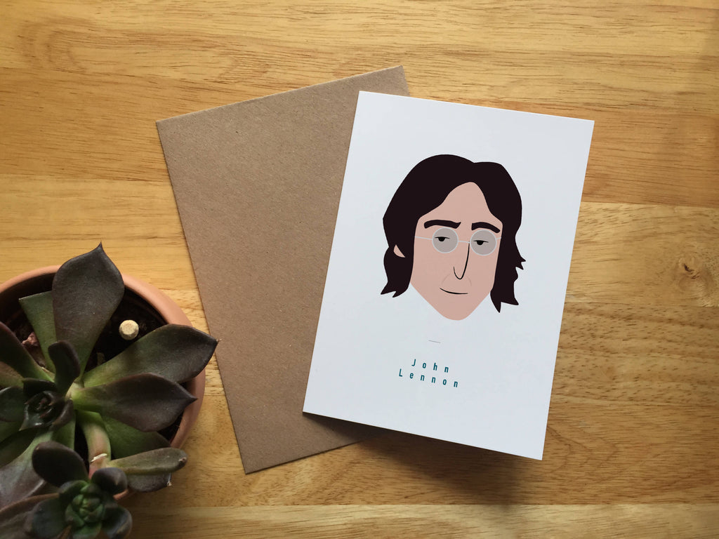 Illustrated Musician Portraits. A6 Greeting Card Bundle