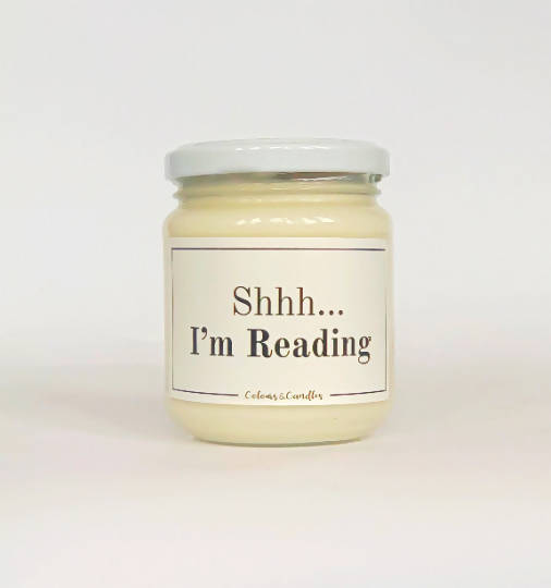 Shhh...I'm Reading Scented Candle