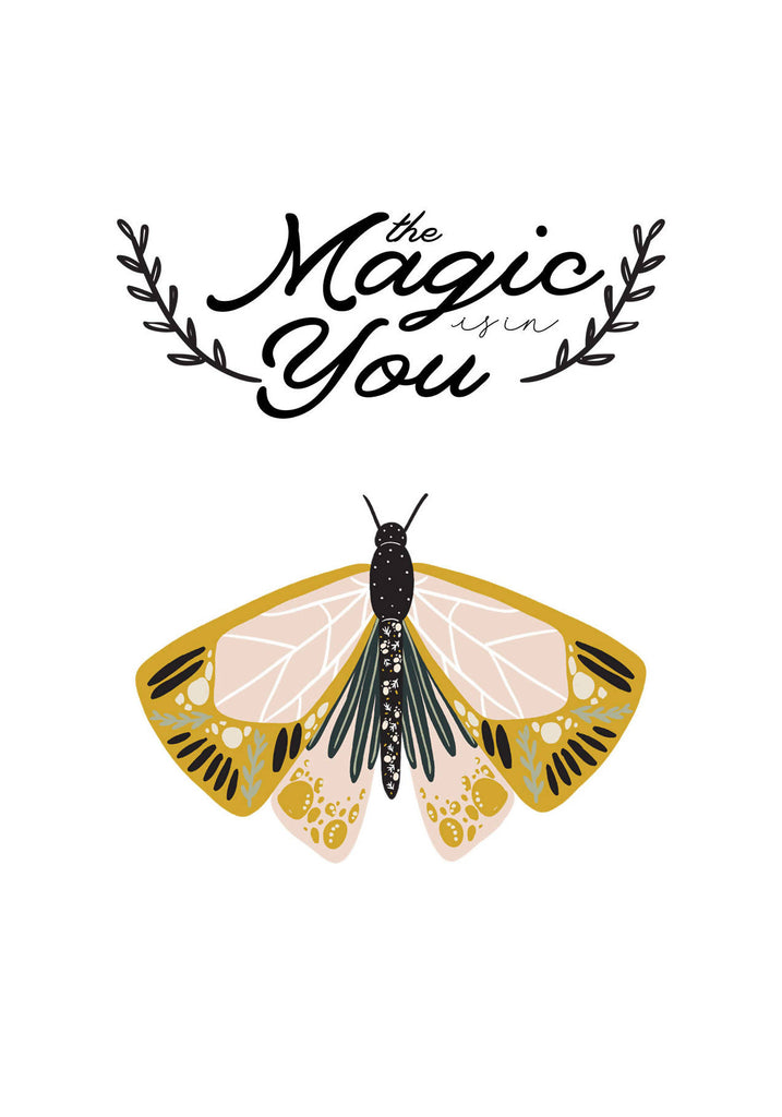 The Magic Is In You Card - Eco-Friendly