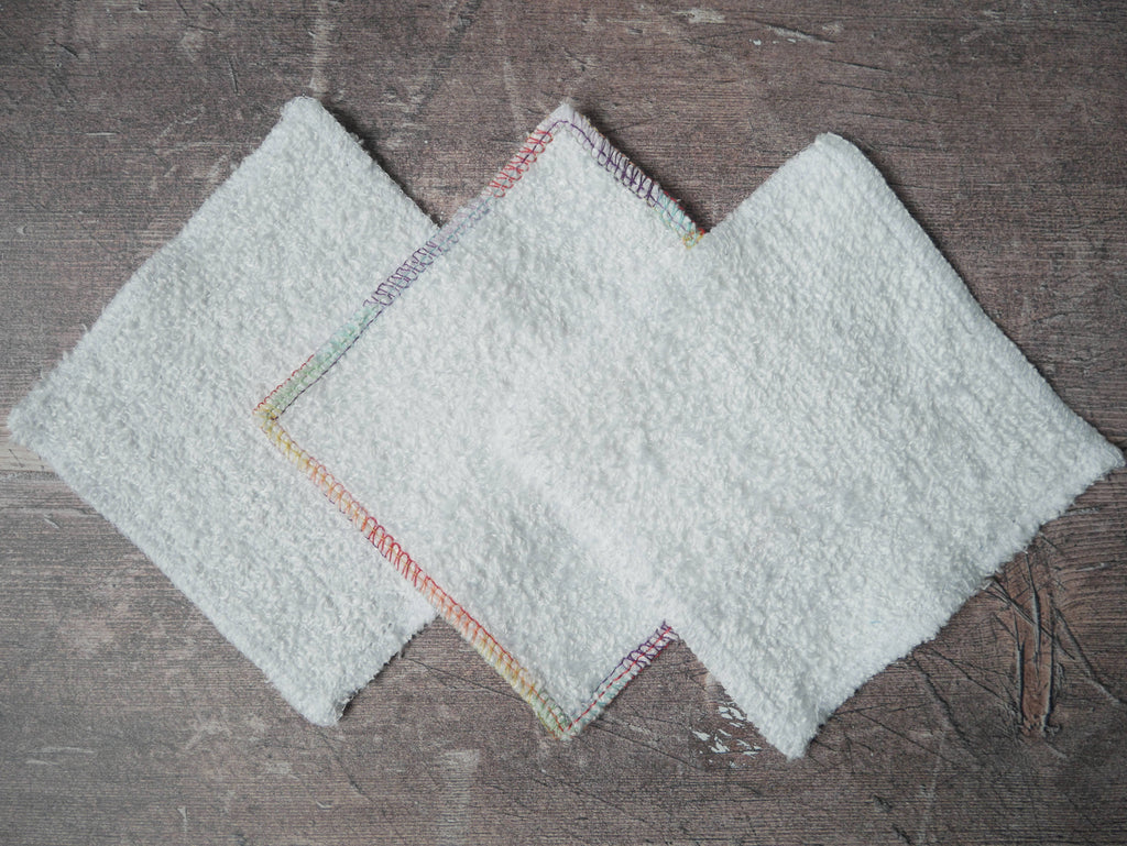 3 for 2 offer - square reusable make up remover pads