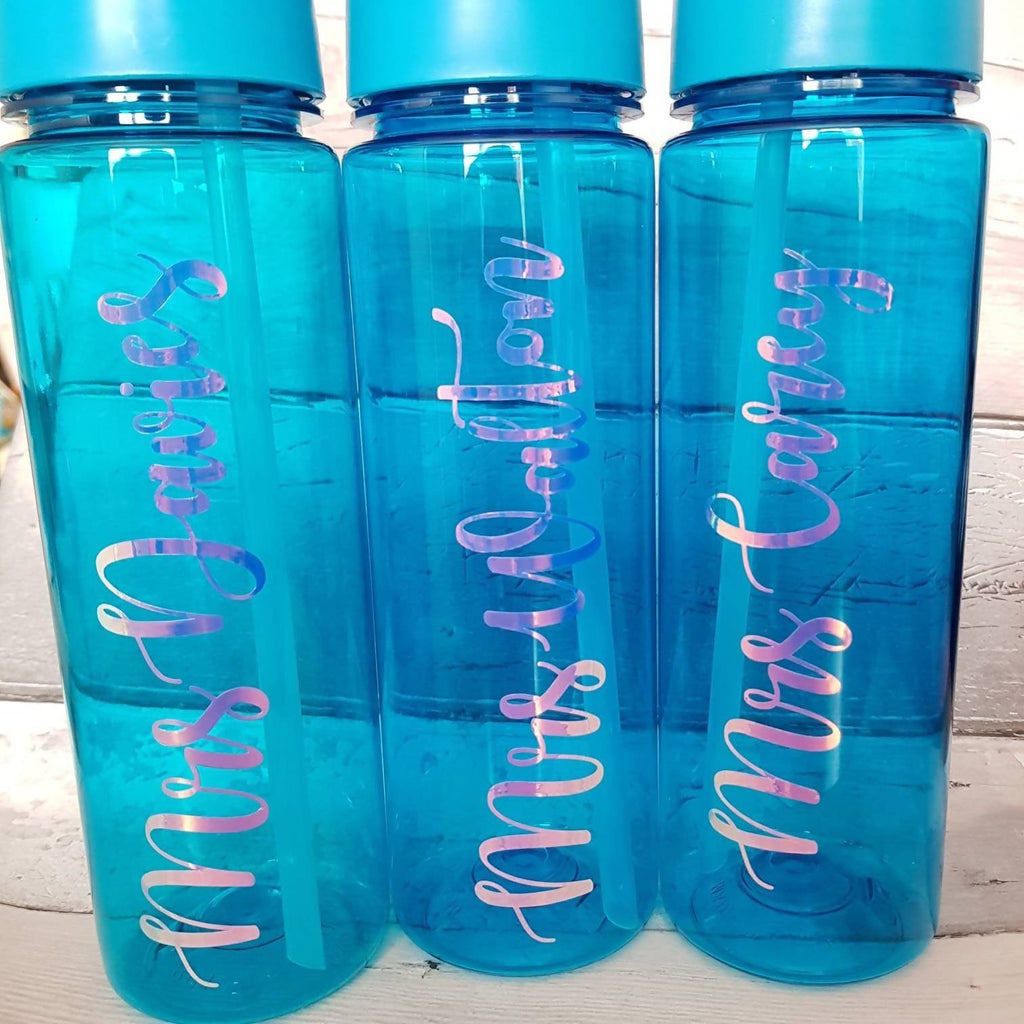 Personalised Teacher Water Bottle