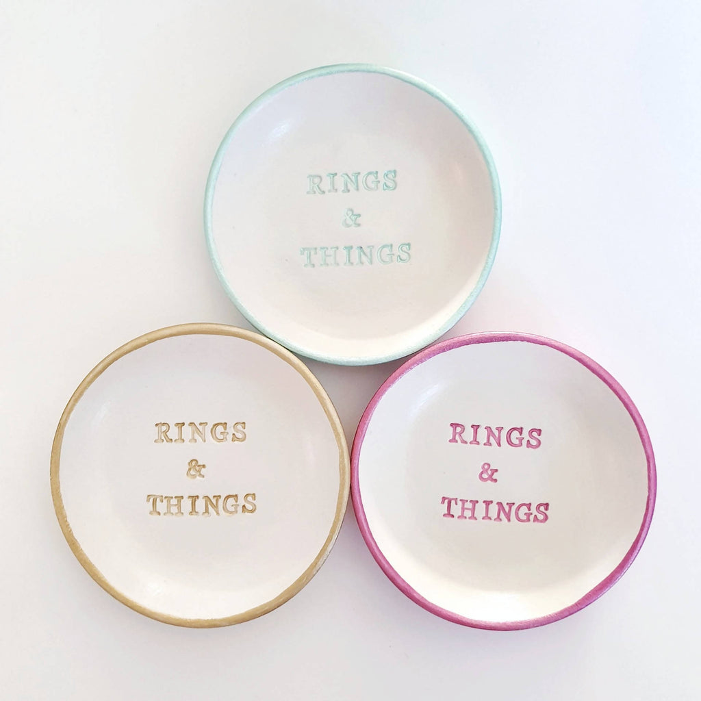 Small Rings & Things trinket dish