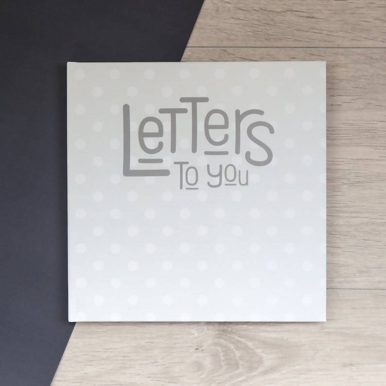Letters to You - Personalised Baby Journal
