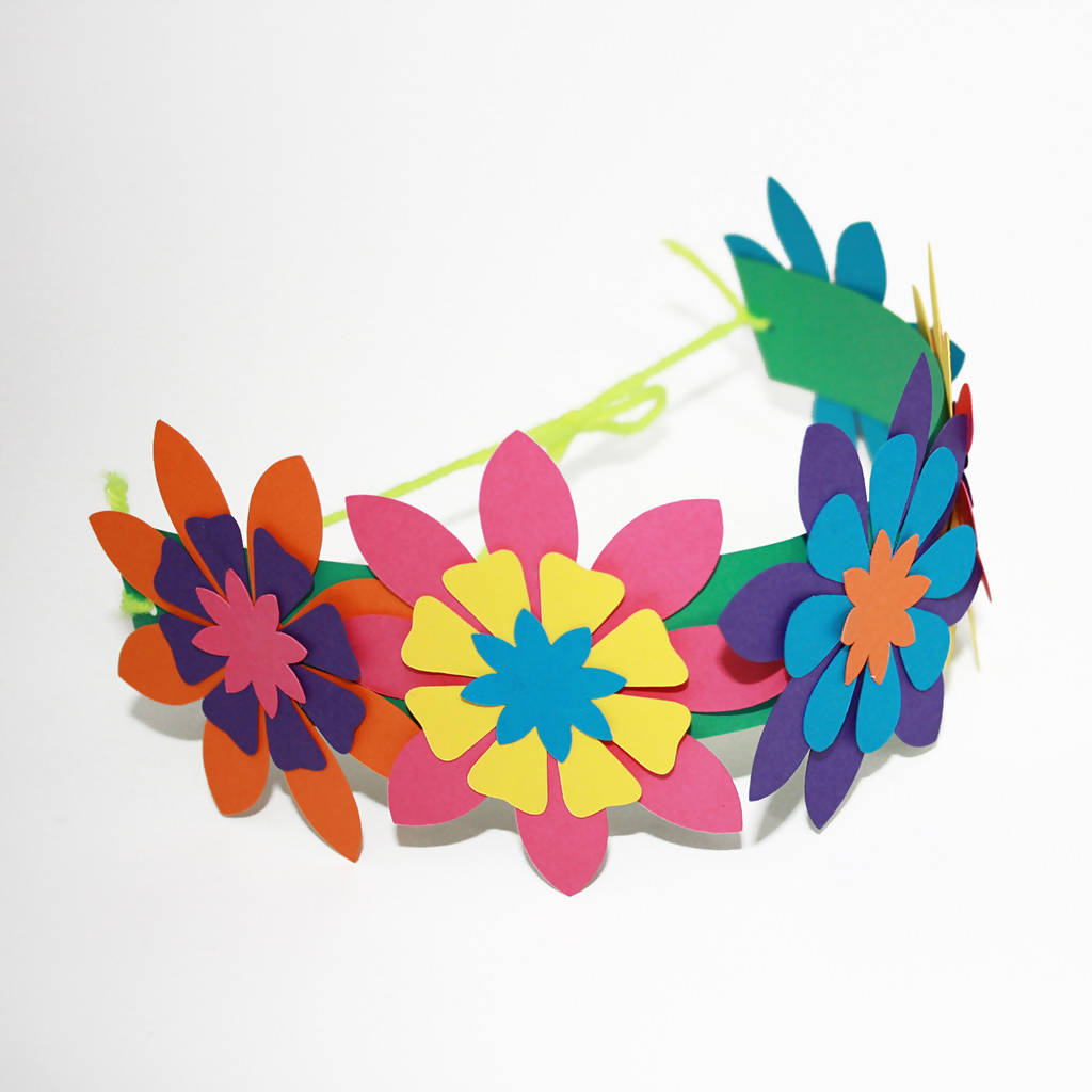 Flower Headband Children's Craft Kit
