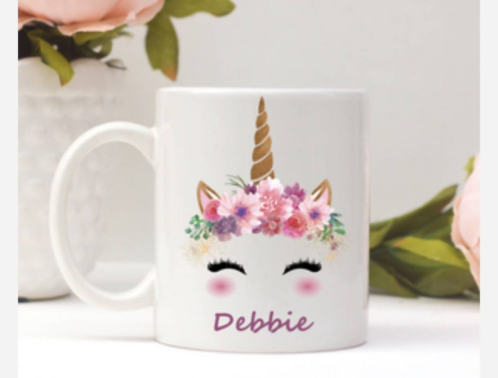 Custom Unicorn Name Mug