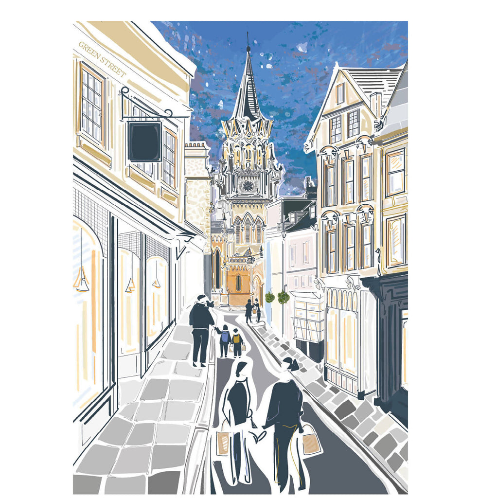 Bath Somerset Art Print
