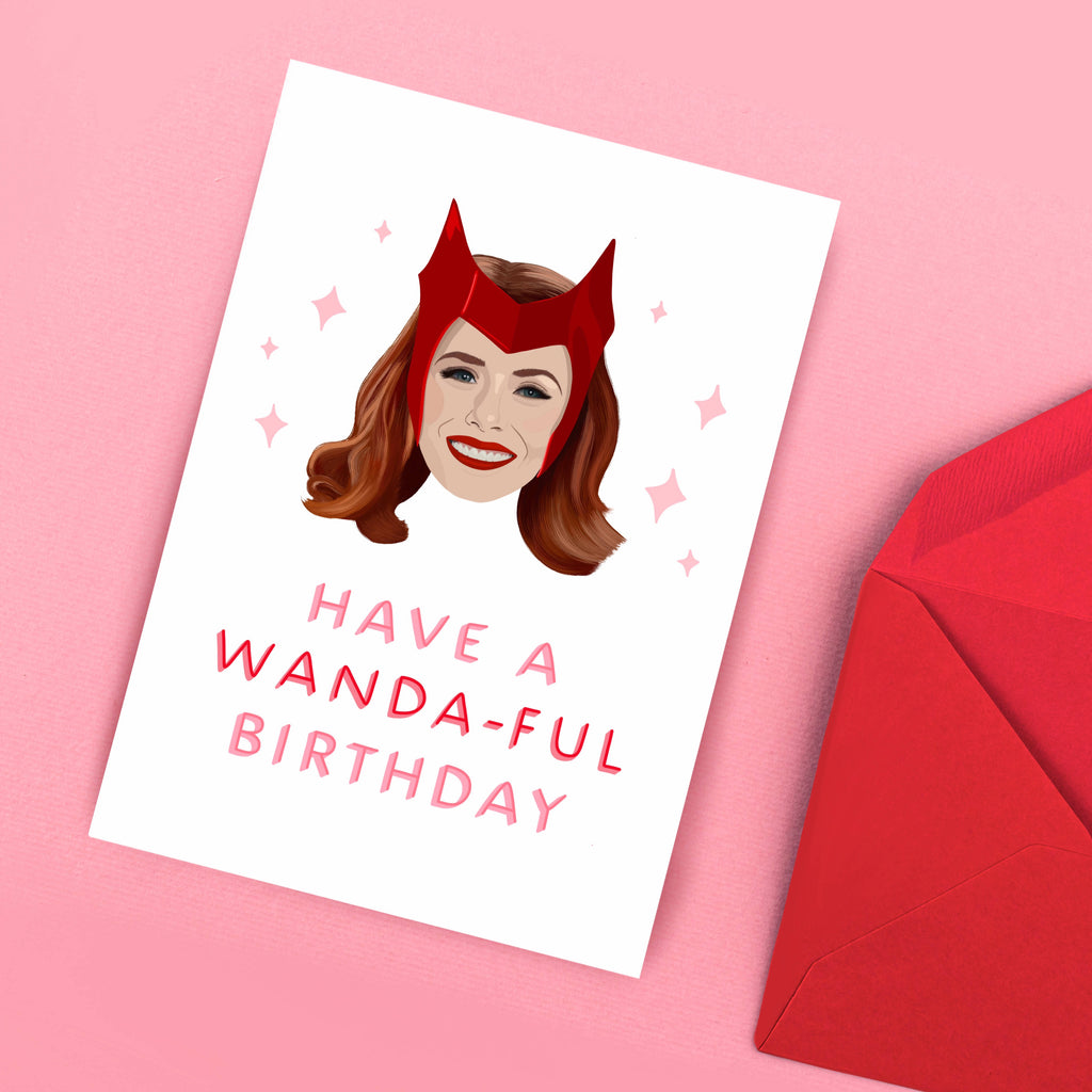 Wonderful Wanda Birthday Card