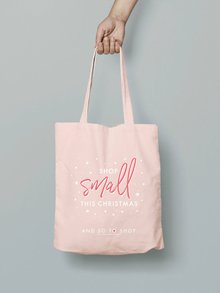 Shop Small This Christmas Tote