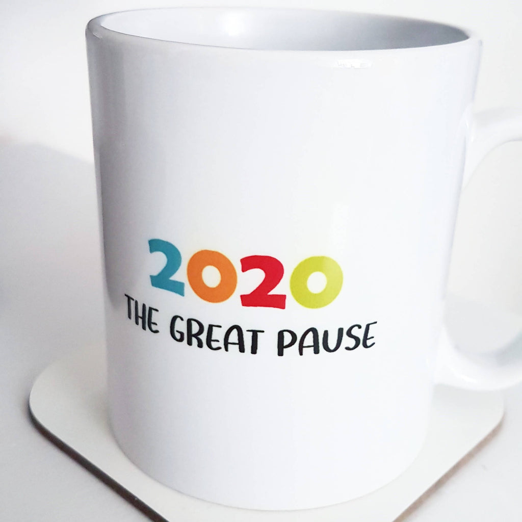 2020 The Great Pause Keepsake Mug