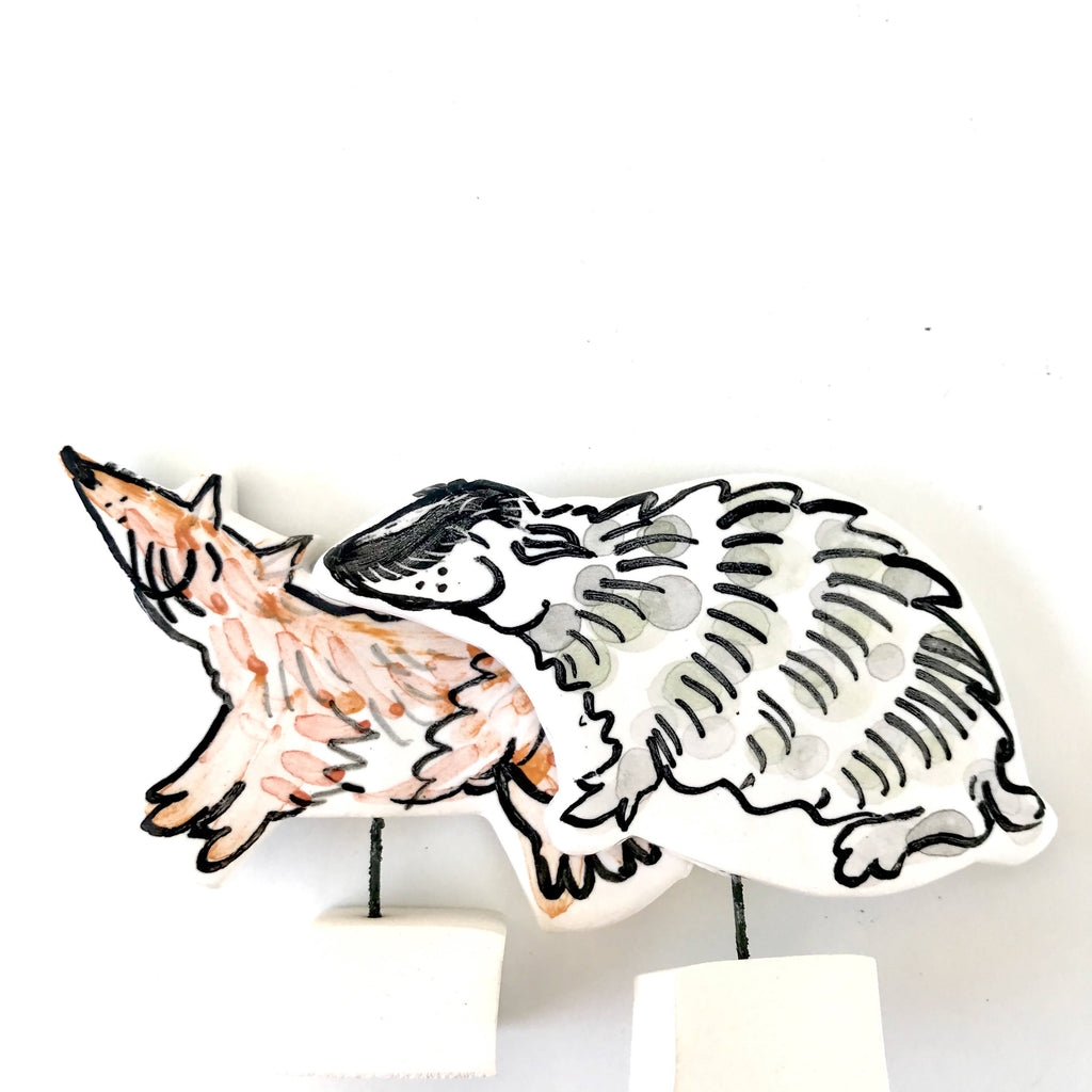 Badger Pottery Ornament