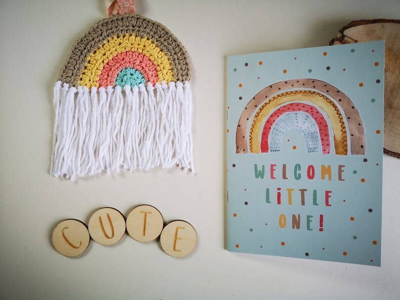 Welcome Little One Blank Notebook