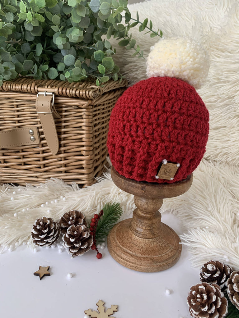 Red Christmas Edition Beanie