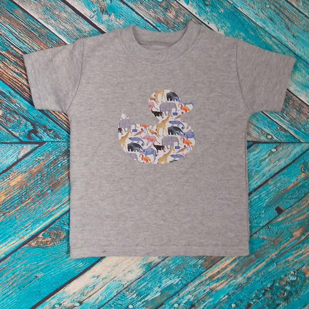 READY-TO-POST 1-2yrs Rubber Duck Tee