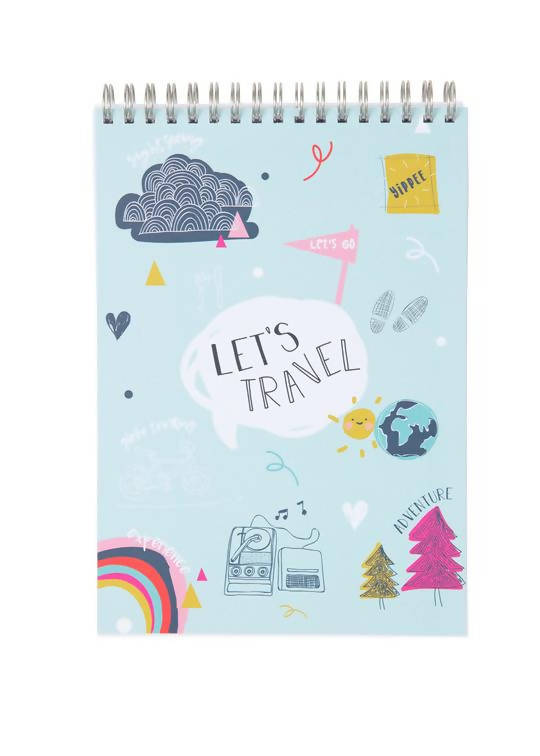 Travel Journal (Let's Travel Cover)