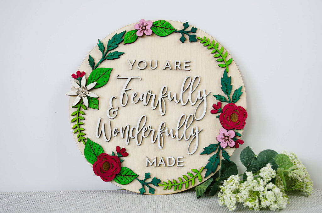 Fearfully & Wonderfully made wooden nursery decor