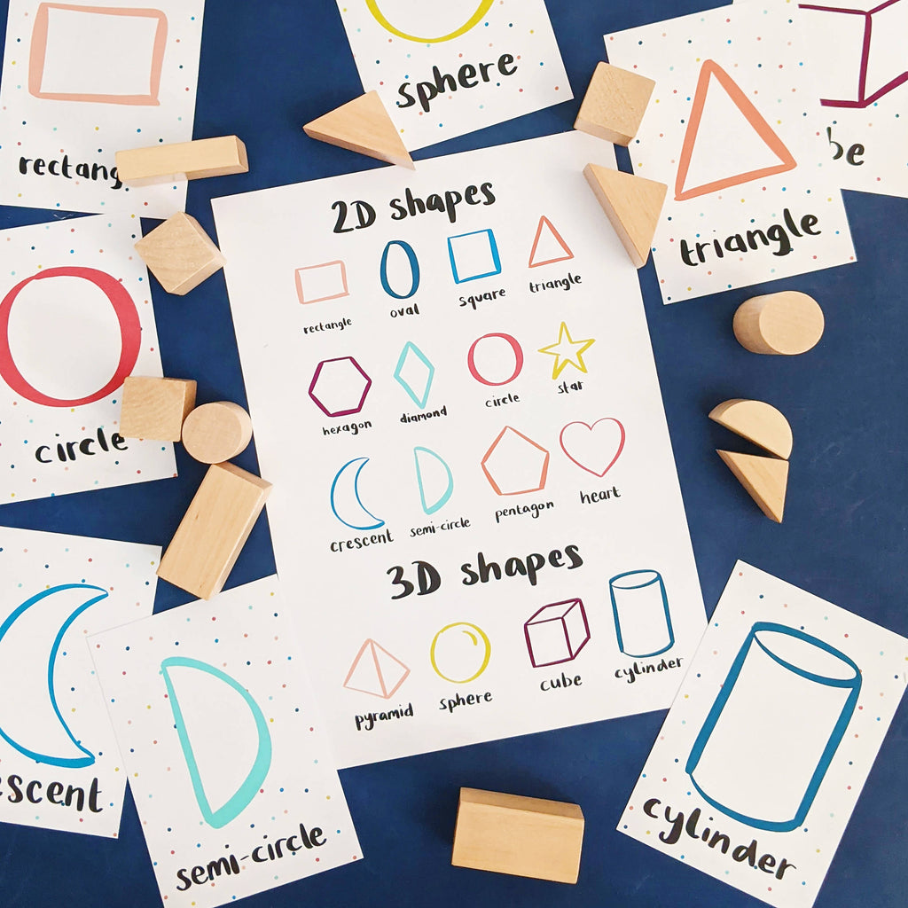 Shapes Flashcards PDF