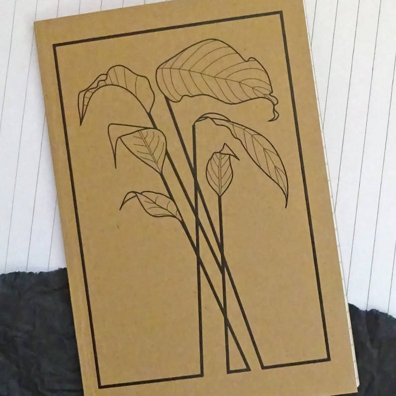 Plants Small Notebook