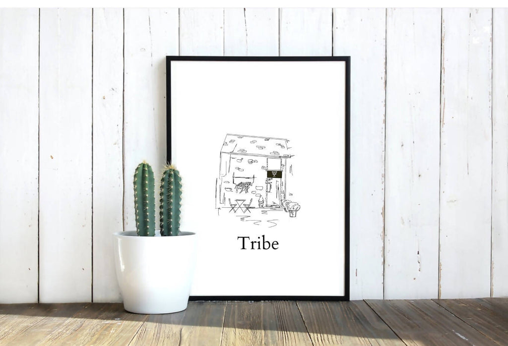 Tribe Coffee Print