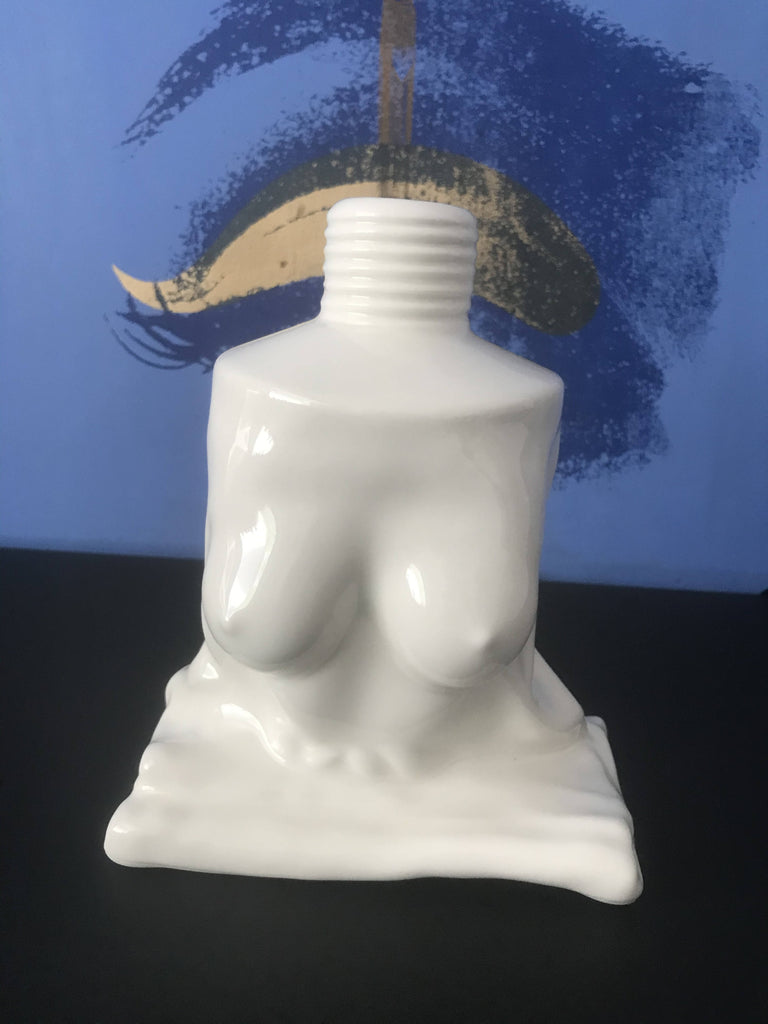 'Boob Tube' Limited Edition Sculpture/Vase - WHITE Large