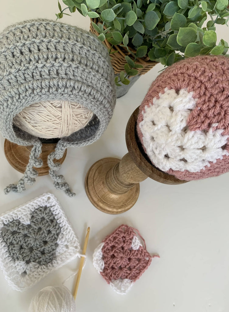 Be Mine Crochet Baby Bonnet