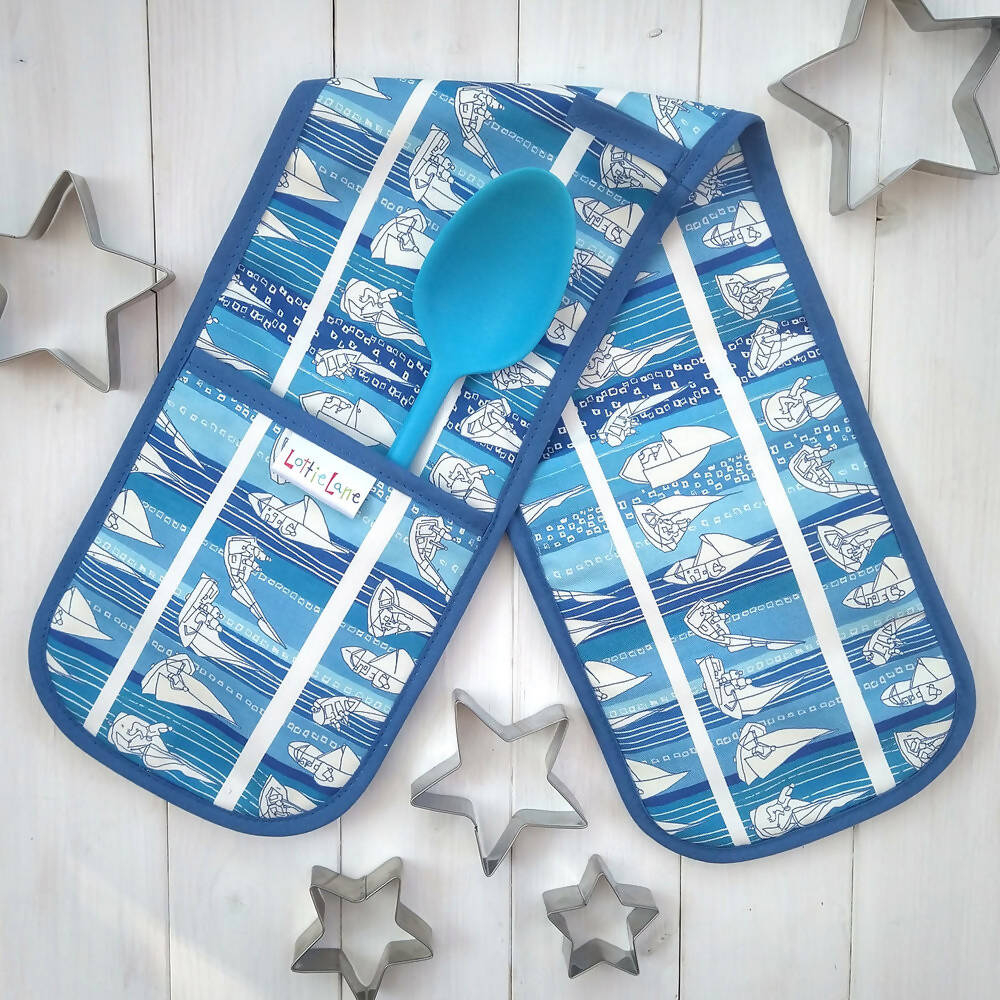 Sailing-Double Oven Gloves