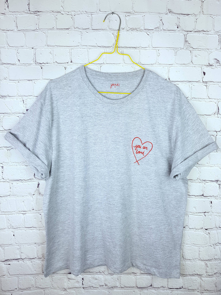 You are loved - Boxy / Slouch t-shirt