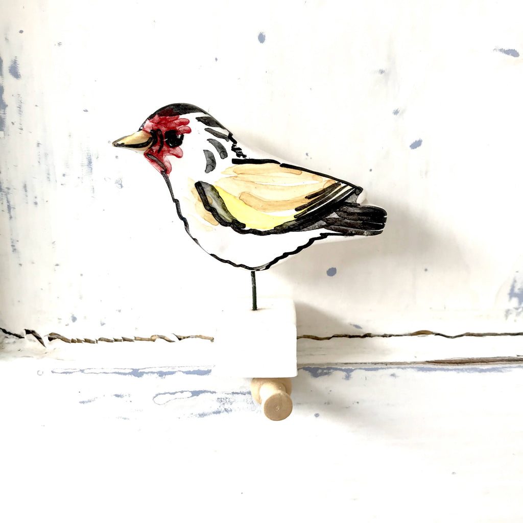 Louise Crookenden-Johnson, Goldfinch Pottery Ornament