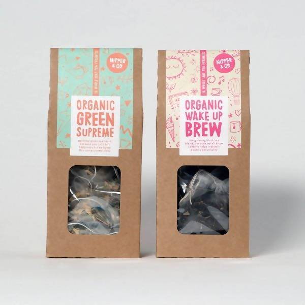 EVERYDAY TEA BUNDLE (GREEN SUPREME & WAKE UP BREW)