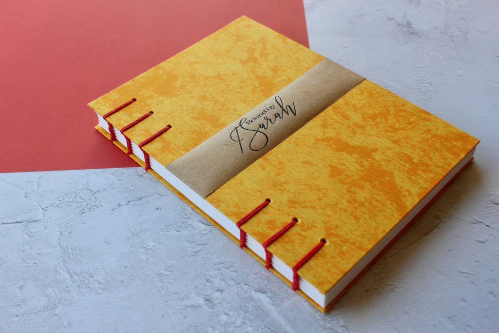 Bright Yellow Sketchbook