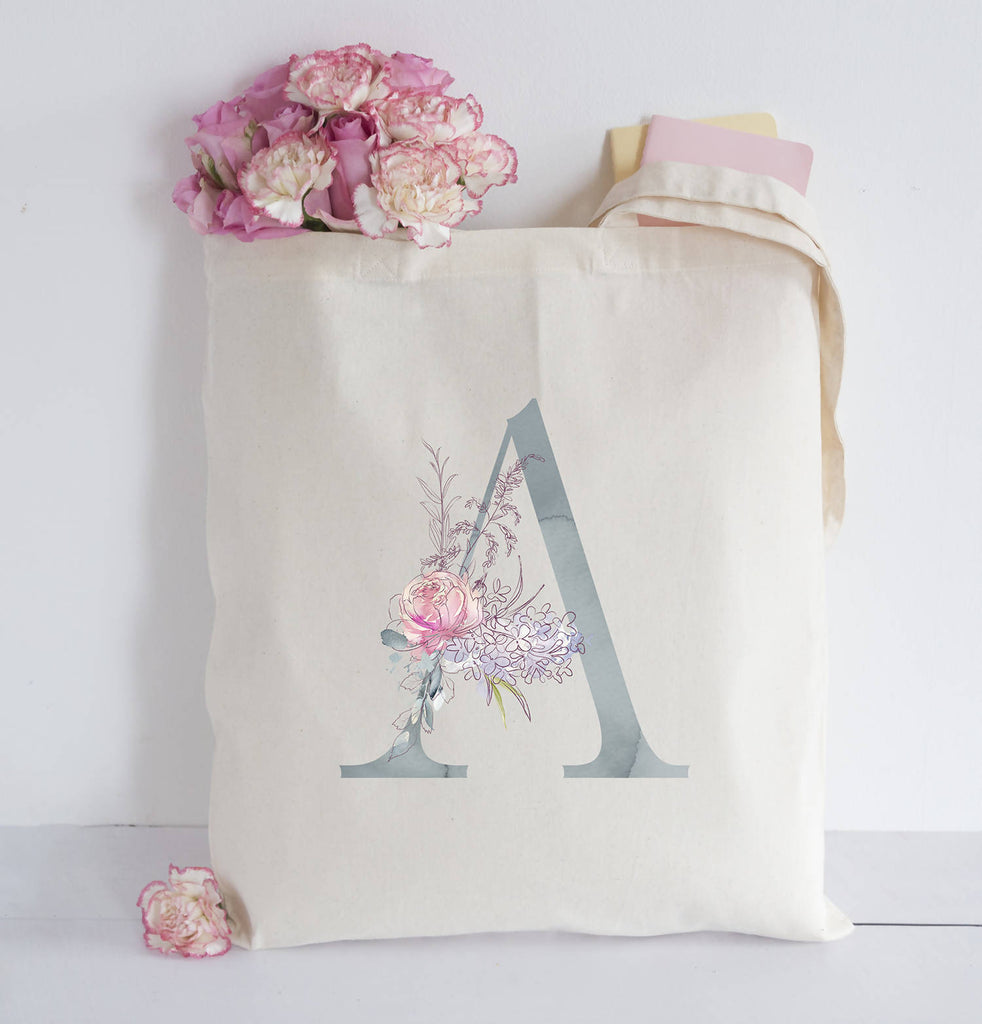Personaised Initial Tote bag