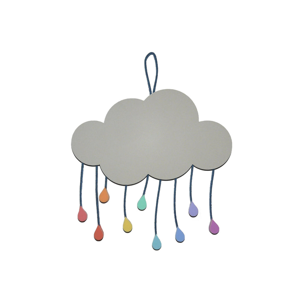 Rainbow Raindrop Cloud - When it rains look for rainbows