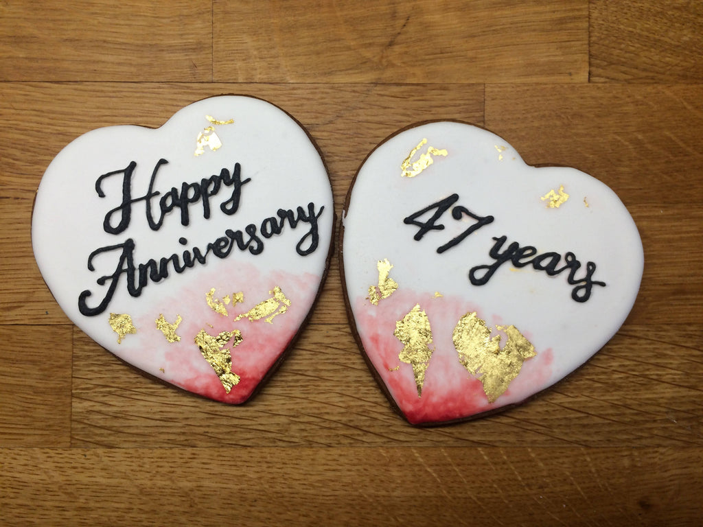 Anniversary Biscuits