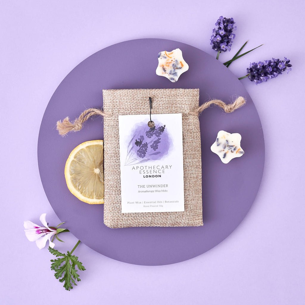 Lavender, Geranium and Lemon - The Unwinder Wax Melts